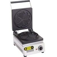 Remta Çiçek Model Waffle Makinası Elektrikli-21 Cm