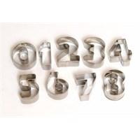 Atadan 9 Lu Rakam Metal Bisküvi Kalıbı-G90602