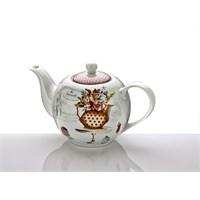 Fidex Home Porselen Demlik Kahve Puantiyeli