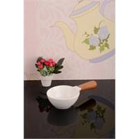 Royal Windsor Bambu Saplı Lüx Porselen Sosluk - 26 Cm