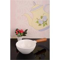 Royal Windsor Bambu Saplı Lüx Porselen Sosluk - 20 Cm