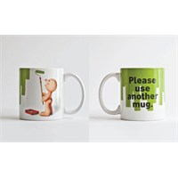 Propaganda Mug - Mr.P Please Use Another Mug