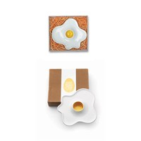 Luckies Frıed Egg Cup - Seramik Yumurtalık
