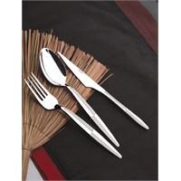 Yetkin Eftelya 12 Adet Tatlı Bıçağı - Saten