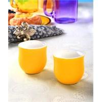 Evino Porselen Tuzluk & Biberlik - Sarı