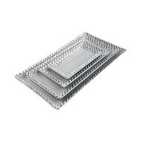 Evino 4'Lü Dekoratif Servis - Gümüş Serisi V4