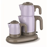 Korkmaz A353-03 Mia Çay Kahve Makinesi Lila