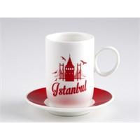Biev İstanbul 6 Kişilik Kahve Seti