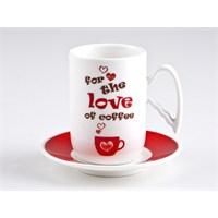 Biev Love Of Coffee 6 Kişilik Kahve Seti