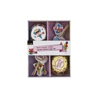 Tantitoni Parti Desenli Combo Cupcake Pişirme Kağıdı Seti