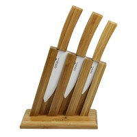 Ceraware Bambu Seri Seramik Bıçak Set +Stand