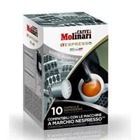 Caffe Molinari %100 Arabıca Kapsül Kahve 10'Lu