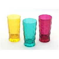 Paşabahçe Prizma Renkli 3 Lü Meşrubat Bardağı