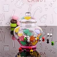 Kosova Cam Kapaklı Şekerlik - Kurabiyelik