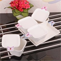 Royal Windsor Kelebek Porselen 4 Lü Kahvaltılık - Kahvaltı Takımı