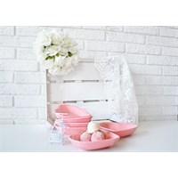 Keramika Çerezlik Kalp 14 Cm Pembe 550 A