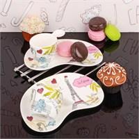 İhouse6203 Porselen 2 Li Fincan Takımı Beyaz