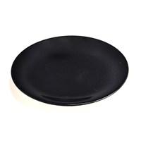 Keramika Tabak Ege Servis 25 Cm Siyah650