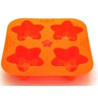 Softbowl Silikon Ürünler 4'LÜ Yıldız Mafin (S113)