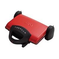 Era SM-19 Rapido Çıkarılabilir Plakalı Izgaralı Tost Makinesi - Kırmızı