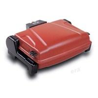 Era SM-13 Kapaklı/Kokusuz/Dumansız/Yıkanabilir Teflonlu Elektrikli Izgara - Kırmızı