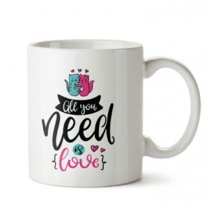dalis aşk ihtiyaç tasarım kupa