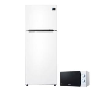 samsung no-frost 472 lt a beyaz twin cooling buzdolabı rt46k6000ww tr samsung 20 lt mikrodalga fırın