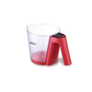 sinbo sks-4516 mutfak tartısı kırmızı - kırmızı