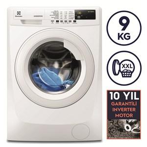 electrolux ewf1294bw a 9 kg 1200 devir inverter çamaşır makinesi