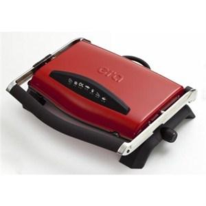 era sm-20 press çıkarılabilir plakalı izgaralı tost makinesi - kırmızı - kırmızı