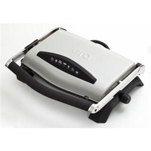 era sm-20 press çıkarılabilir plakalı izgaralı tost makinesi - kırmızı - gri