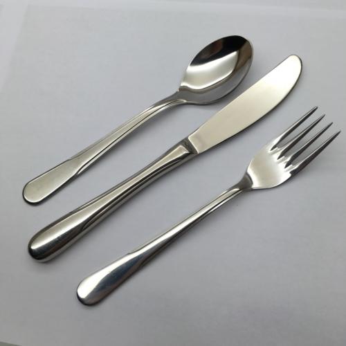 İkram Dünyası Smeraldo Eda model Tatlı-Pasta Bıçağı 12 Adet
