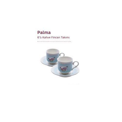 Emsan Palma 6'Lı Kahve Fincan Seti