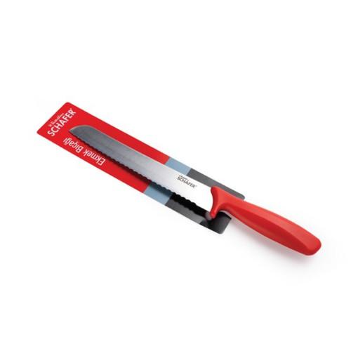 Schafer Ekmek Bıçağı Kırmızı (66036)
