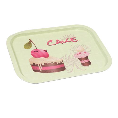 I Love Home Metal Tepsi Cake