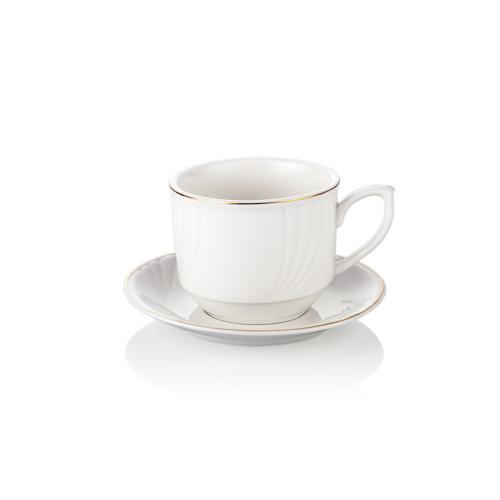Noble Life 6 lı Platin Çay Fincan Seti