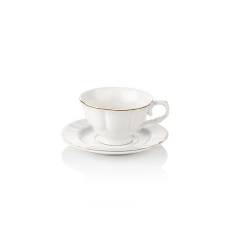 Noble Life 6 lı Gold Rolyef Kahve Fincan Seti