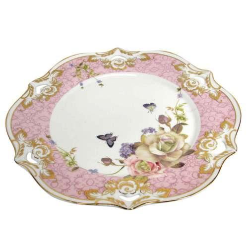 Vitale Style Rose 6lı Pasta Tabak