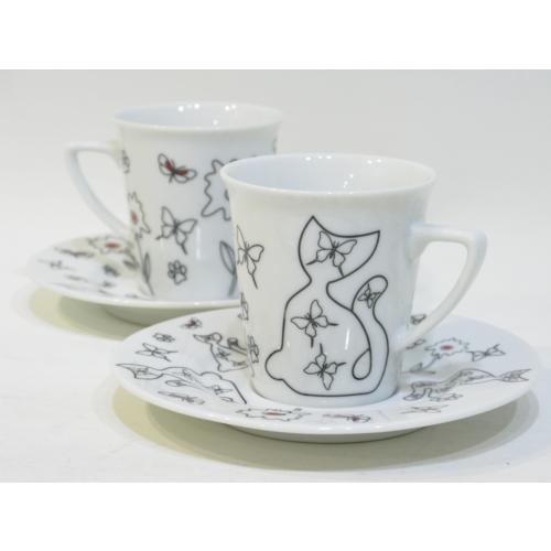 Cats By Luyano 200 Cc Çay Fincanı 2 Li Set