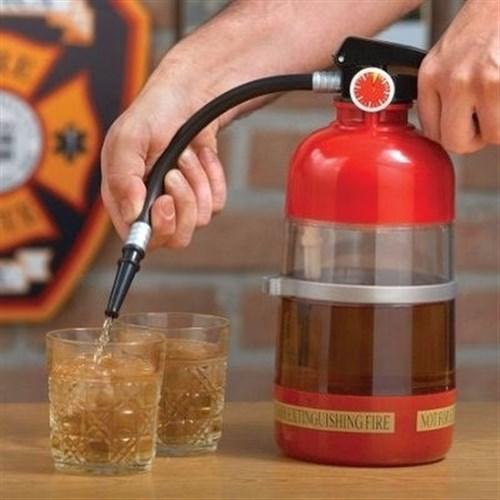 BuldumBuldum Extinguisher Cocktail Shaker - Yangın Söndürücü Kokteyl Karıştırıcı