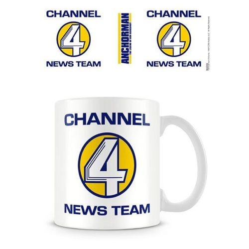 Pyramid International Anchorman Channel 4 News Team Kupa Bardak