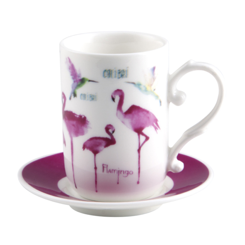 Biev Flamingo 6 Kişilik Kahve Seti