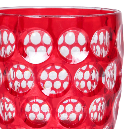 Lente Kırmızı Su Bardağı