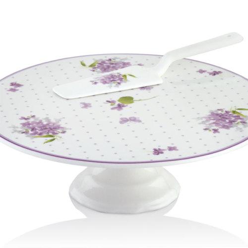 Pierre Cardin Violet Crown Bone Chına Servis Seti