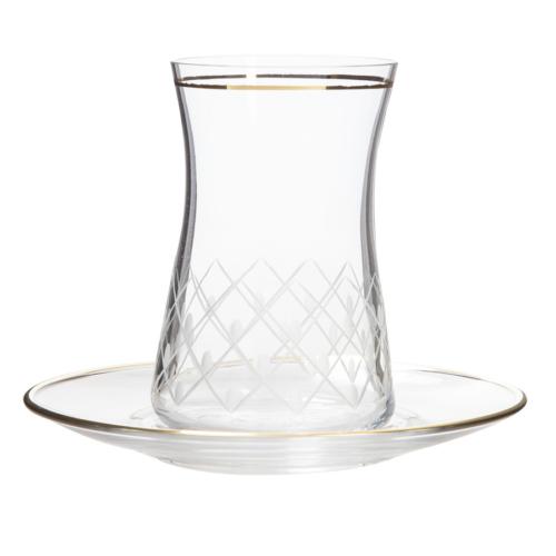 Laliano Pino Altın Çay Bardağı