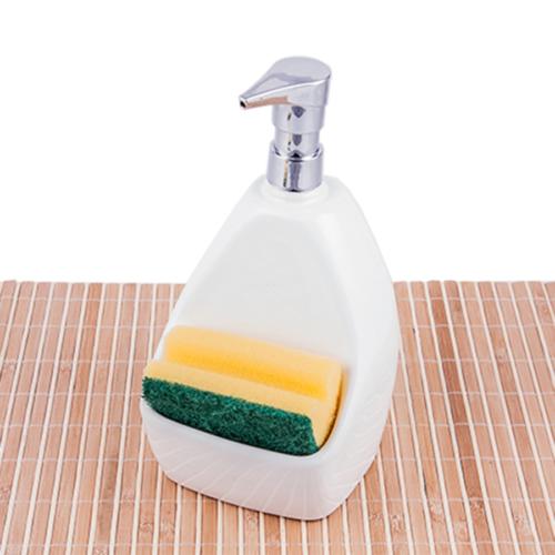 Evon Süngerlikli Sıvı Sabunluk Beyaz