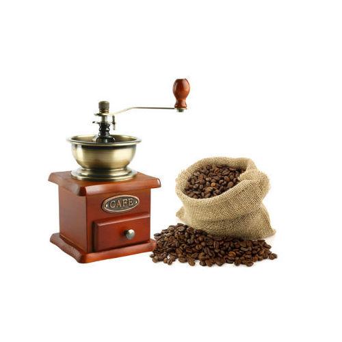 Ahşap Kahve Değirmeni