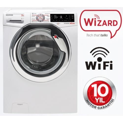 Hoover DWT 413AH/1-S Wizard Series A+++ 13 Kg 1400 Devir WiFi Özellikli Çamaşır Makinesi