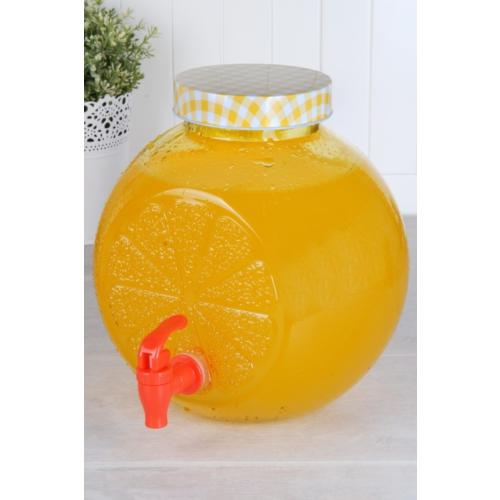 Hiper Cam 4lt Musluklu Sebil Sarı