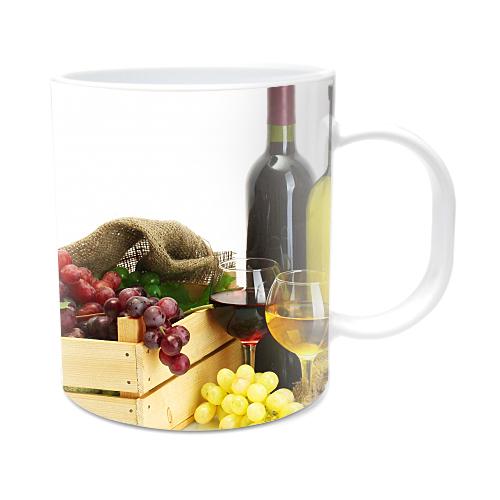 Fotografyabaskı Şaraplar Beyaz Kupa Bardak Baskı